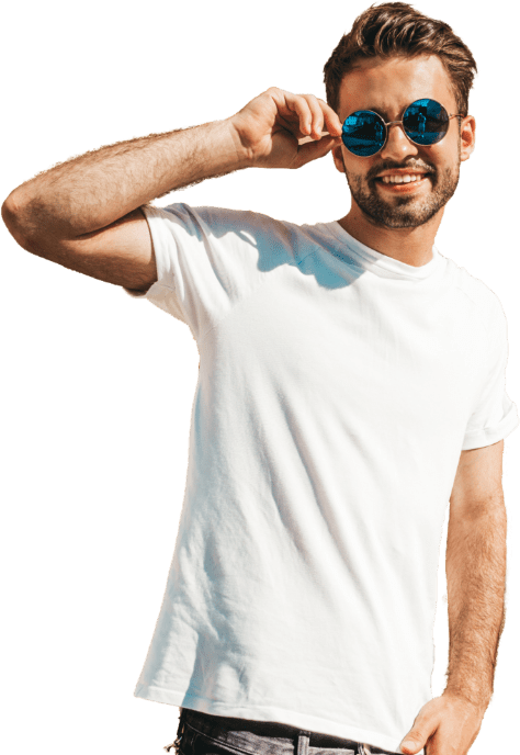 Man With Sunny Glasses