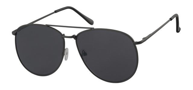 Piloten zonnebril - A10289-1 Lens Grijs Montuur Zwart