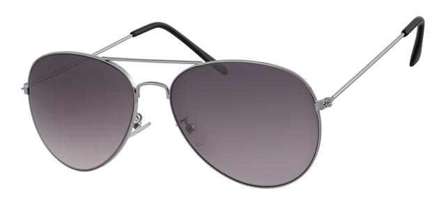 Piloten zonnebril - A10306-1 Lens Grijs Montuur Zilver