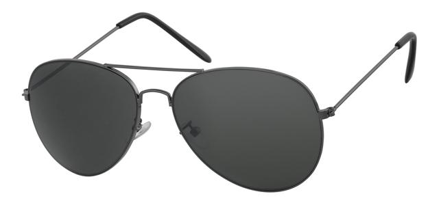 Piloten zonnebril - A10306-2 Lens Groen Montuur Grijs
