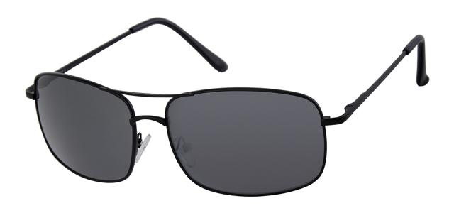 Piloten zonnebril - A10308-1 Lens Grijs Montuur Zwart