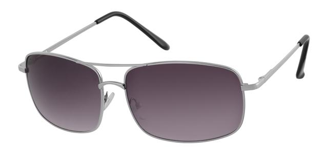 Piloten zonnebril - A10308-3 Lens Grijs Montuur Zilver