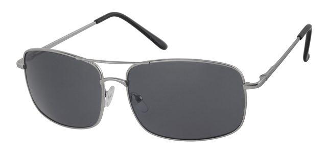 Piloten zonnebril - A10308-4 Lens Grijs Montuur Zilver