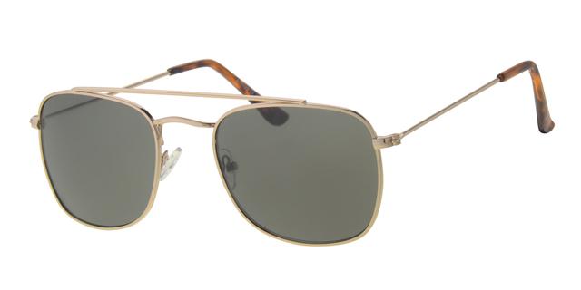 Piloten zonnebril - A10323-2 Lens Groen Montuur Goud