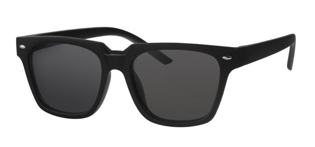 Wayfarer zonnebril - A20171-1 Lens Grijs Montuur Zwart