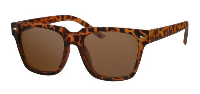 Wayfarer zonnebril - A20171-2 Lens Bruin Montuur Bruin Havana