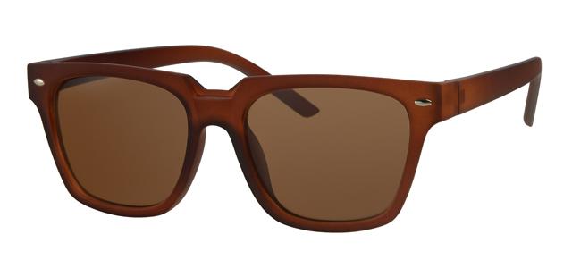 Wayfarer zonnebril - A20171-3 Lens Bruin Montuur Bruin