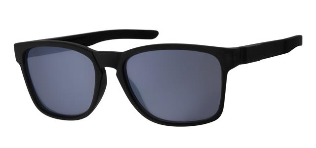 Wayfarer zonnebril - A20194-1 Lens Grijs Montuur Zwart