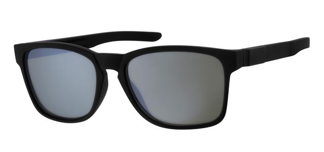 Wayfarer zonnebril - A20194-2 Lens Groen Montuur Zwart