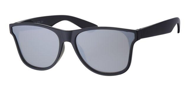 Wayfarer zonnebril - A20200-3 Lens Zilver Montuur Zwart