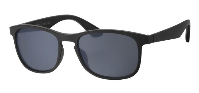 Wayfarer zonnebril - A20203-1 Lens Grijs Montuur Zwart