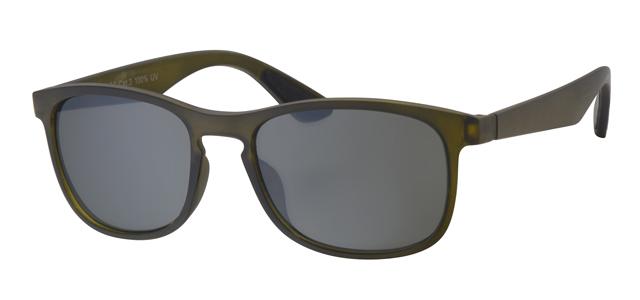 Wayfarer zonnebril - A20203-2 Lens Groen Montuur Groen