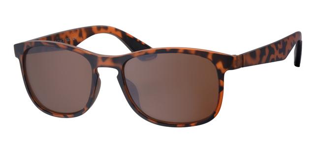Wayfarer zonnebril - A20203-3 Lens Bruin Montuur Bruin|Havana