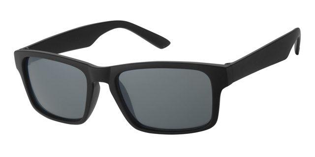Wayfarer zonnebril - A20207-2 Lens Grijs Montuur Zwart