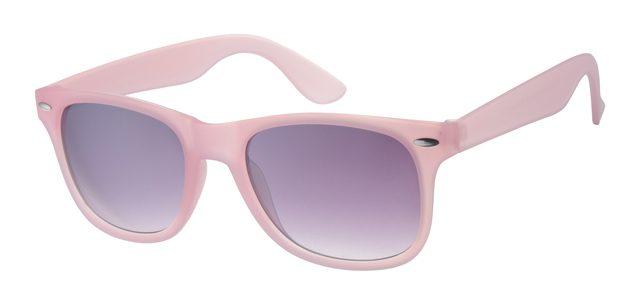 Wayfarer zonnebril - A40339-3 Lens Grijs Montuur Roze