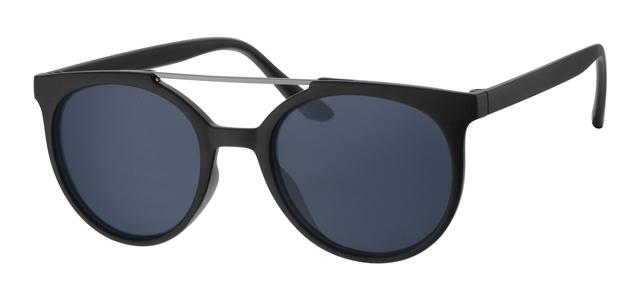Wayfarer zonnebril - A40359-2 Lens Grijs Montuur Zwart