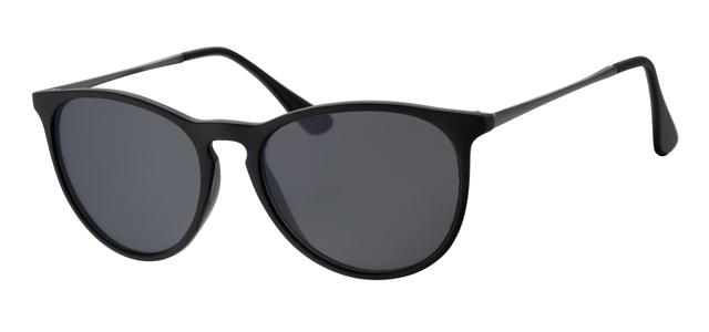 Wayfarer zonnebril - A40360-1 Lens Grijs Montuur Zwart