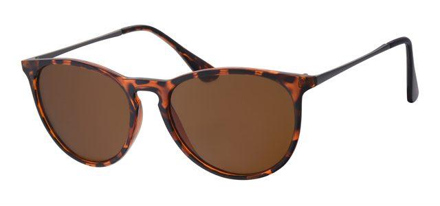 Wayfarer zonnebril - A40360-2 Lens Bruin Montuur Bruin|Havana