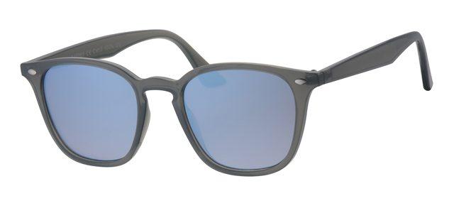 Wayfarer zonnebril - A40365-1 Lens Zilver Montuur Grijs