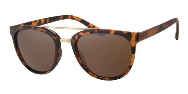 9f0dd16628 Wayfarer clubmaster zonnebril - A40382-3 lens Bruin montuur Bruin
