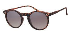 Ronde zonnebril - A40393-3 Lens Bruin Montuur Bruin|Havana