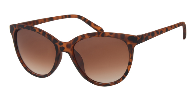 Cat eye zonnebril - A60740-3 Lens Bruin Montuur Bruin|Havana