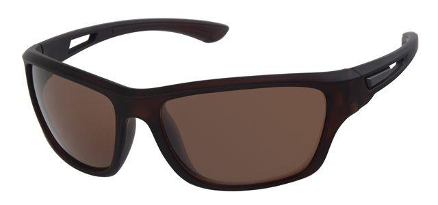 Sport zonnebril - A70128-2 Lens Bruin Montuur Bruin