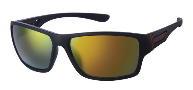 Sport zonnebril - A70130-2 Lens Rood Montuur Zwart