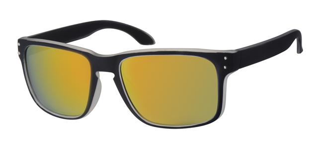 Sport zonnebril - A70134-1 Lens Rood Montuur Zwart