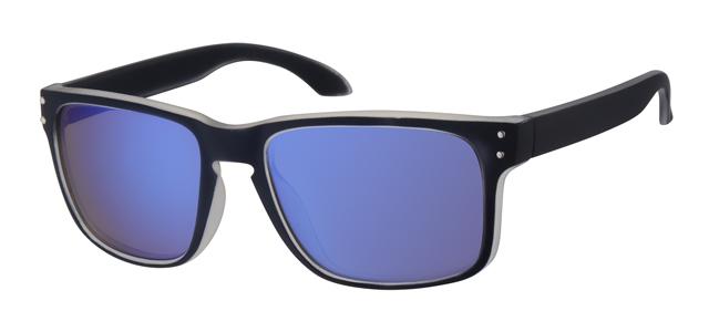 Sport zonnebril - A70134-2 Lens Blauw Montuur Zwart