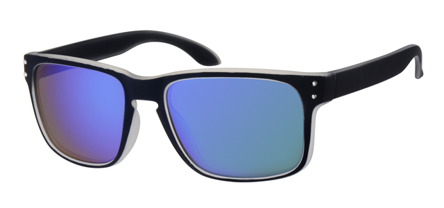 Sport zonnebril - A70134-3 Lens Groen Montuur Zwart