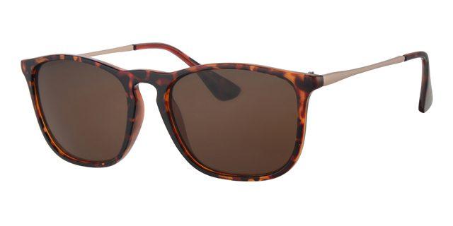 Wayfarer zonnebril - L4204-2 Lens Bruin Montuur Bruin|Havana