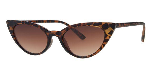 Cat eye zonnebril - L6268-2 Lens Bruin Montuur Bruin|Havana