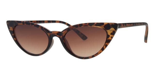 f728f2e9b2067c Cat eye zonnebril - L6268-2 Lens Bruin Montuur Bruin