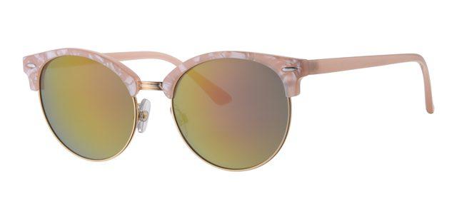 Clubmaster zonnebril - L6589-3 Lens Roze Montuur Roze