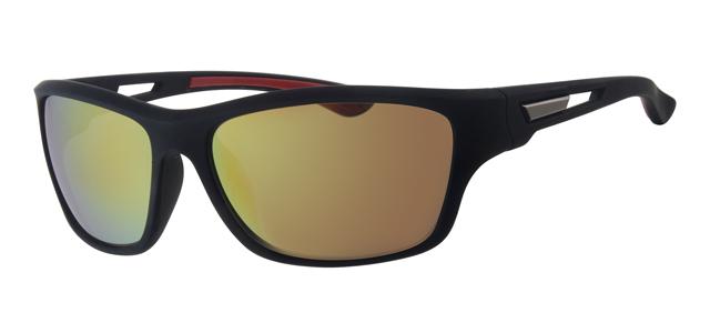 Sport zonnebril - L7089-2 Lens Blauw Montuur Zwart