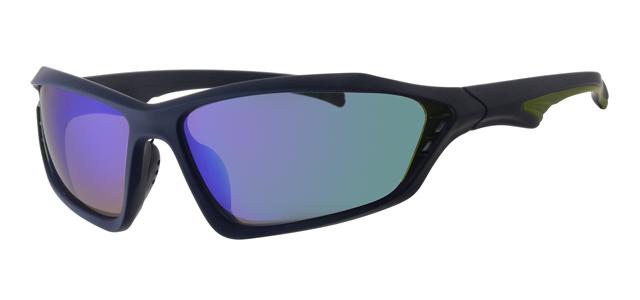 Sport zonnebril - L7091-2 Lens Groen Montuur Grijs