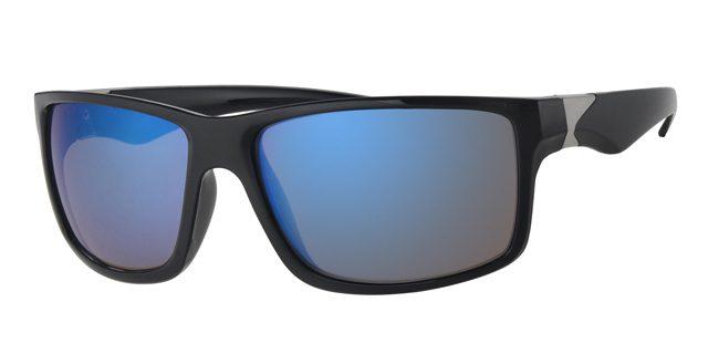 Sport zonnebril - L7094-2 Lens Blauw Montuur Zwart