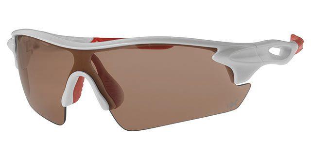 Ski zonnebril - POLRX7032 Lens Oranje Montuur Wit