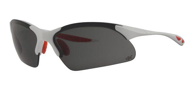 Ski zonnebril - POLRX7035 Lens Grijs Montuur Wit