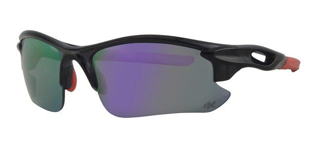 Ski zonnebril - POLRX7036 Lens Paars Montuur Zwart